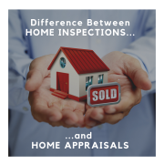 Home Inspection vs Home Appraisal